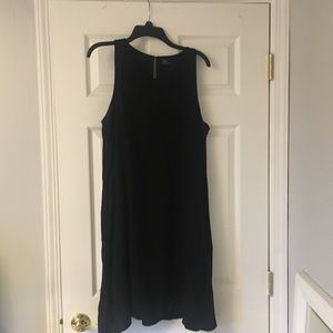 The perfect black shift dress